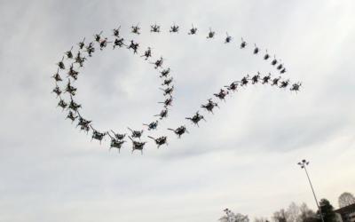 El algoritmo de IA permite a los drones autónomos hacer rollos de barril y volteretas