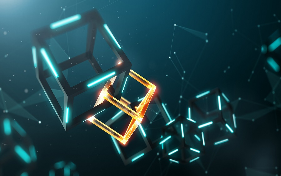 Abstract image showing blocks